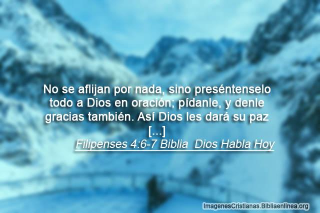 Dios va dar paz lo dice la biblia