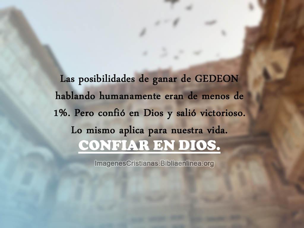 Imagenes de confiar en dios con frases