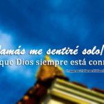 Imagenes cristianas sobre la soledad