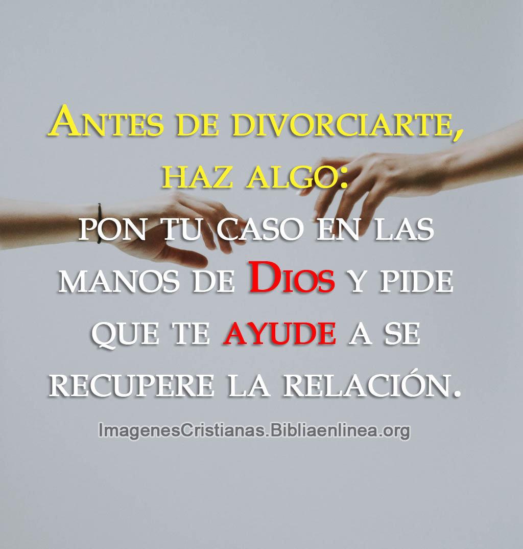 Que hacer si te quieres divorciar consejo