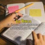 Imágenes: La Biblia el único libro que puede transformar tu vida