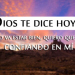 Imagenes Cristianas Dios te dice hoy