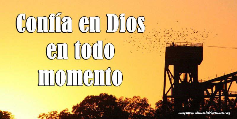 Confia en Dios Imagen Cristiana