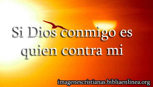 Dios conmigo es
