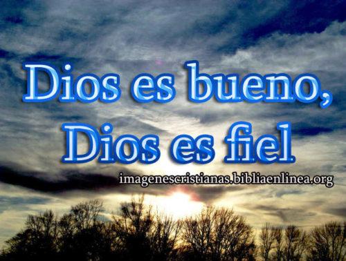 Dios es bueno, Dios es fiel