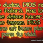Dios no te fallara