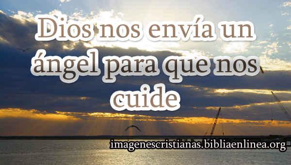 Dios nos envia un angel para que nos cuide