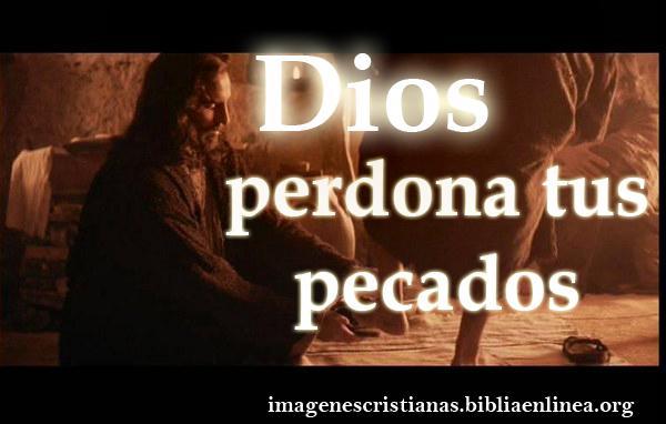 Dios perdona tus pecados