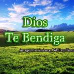 Imágenes que dicen: Dios te bendiga