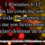 Imagen cristiana de 1 Corintios 6:12