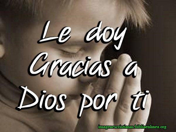 Le Doy Gracias a Dios pot Ti