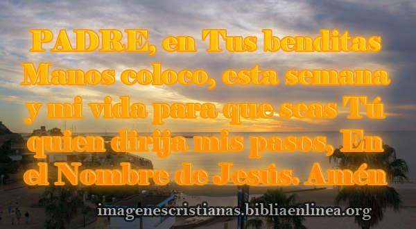 Oracion Cristiana para el Lunes