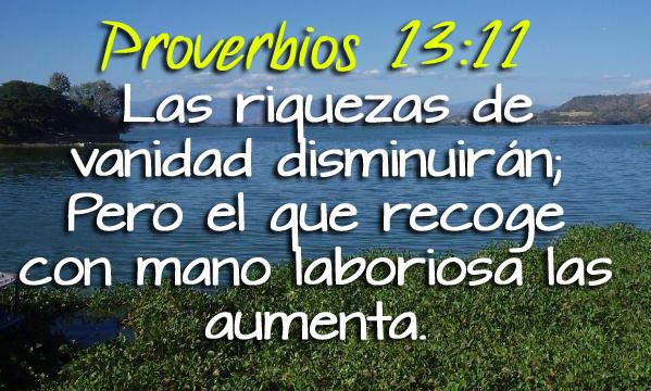 Proverbios 13-11