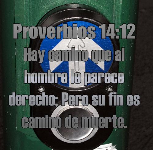 Imagen cristiana Proverbios 14:12