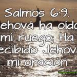 Imagen Cristiana con Salmos 6:9