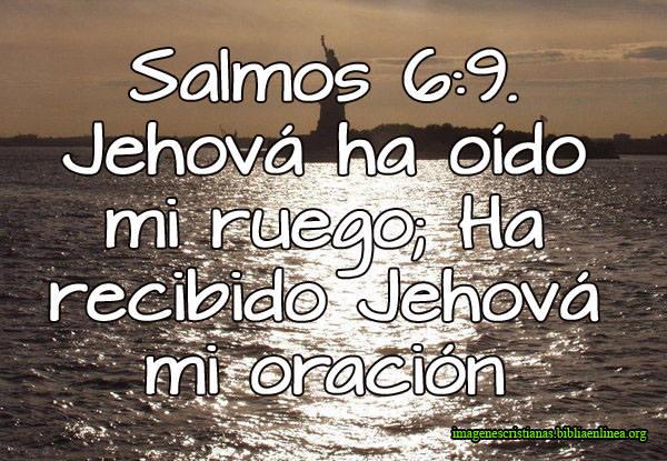 Salmos 6-9 Imagen Cristiana para Facebook