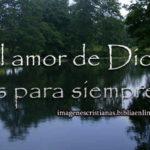 El amor de Dios es para siempre