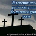 fe y paciencia