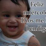 Feliz miércoles Dios me los bendiga