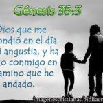 Imagen con Genesis 35:3 Dios que me respondió
