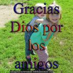 Imágenes cristianas Gracias Dios por los amigos