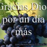 Imágenes cristianas Gracias Dios por un día más