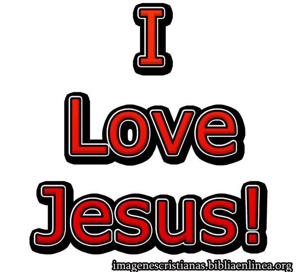i love jesus foto