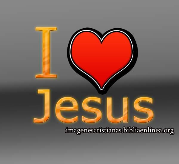 i love jesus imagen cristiana