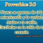 Imagen con proverbios 3:3 para descargar gratis