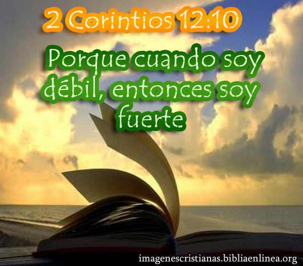 imagen cristiana 2 corintios 12-10