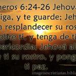 Imagen cristiana Dios te bendiga y te guarde