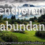 Imagen Cristiana: Bendiciones en Abundancia