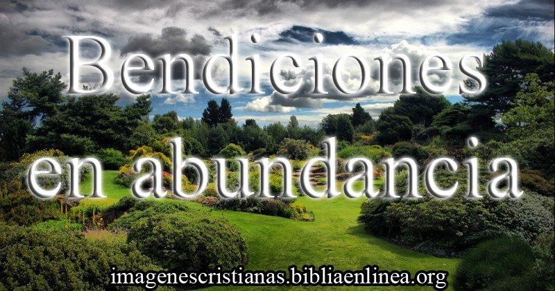 imagen cristiana bendiciones