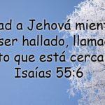 Imagen cristiana: Buscad a Jehova