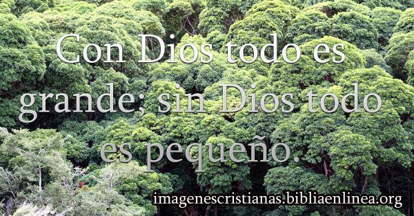 imagen cristiana con Dios