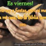 Imagen cristiana de viernes para facebook