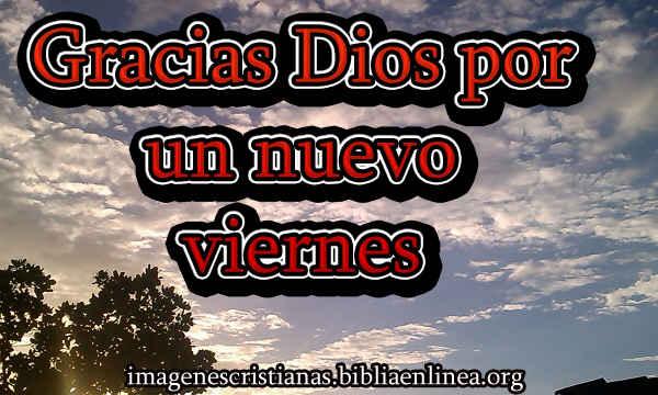 imagen cristiana de viernes