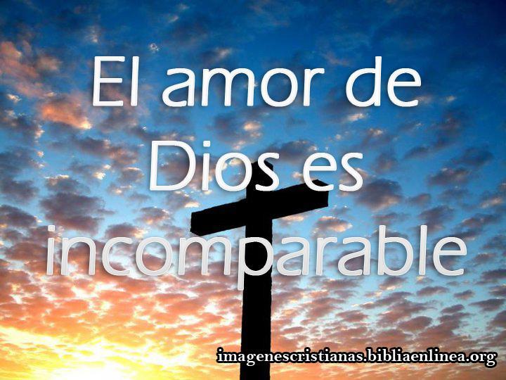 imagen cristiana el amor de Dios
