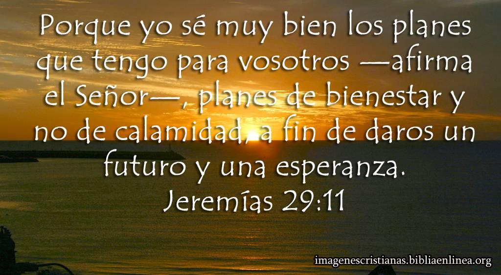 imagen cristiana los planes de Dios
