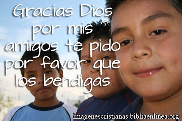 imagenes de amistad agradeciendo a Dios
