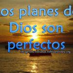 Imágenes cristianas en los planes de Dios son perfectos