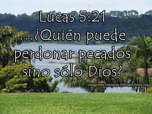 Dios es quien nos perdona todos nuestros pecados