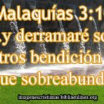 Imagen Cristiana de Malaquias 3:10