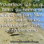 Proverbios del trabajador 12:11