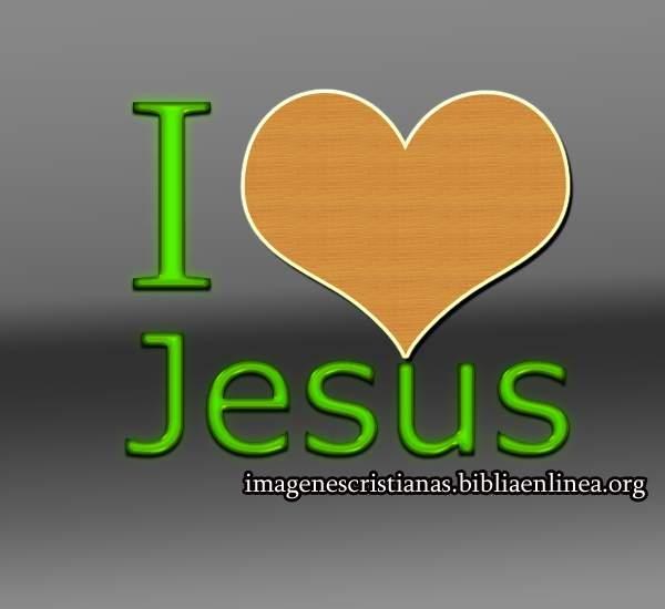 yo amo a jesus en ingles