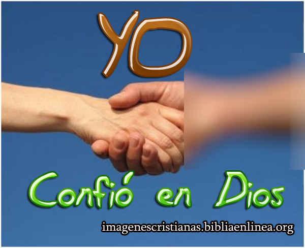 yo confio en Dios