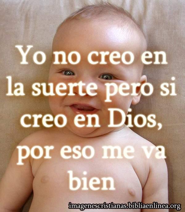 yo creo en Dios imagen cristiana